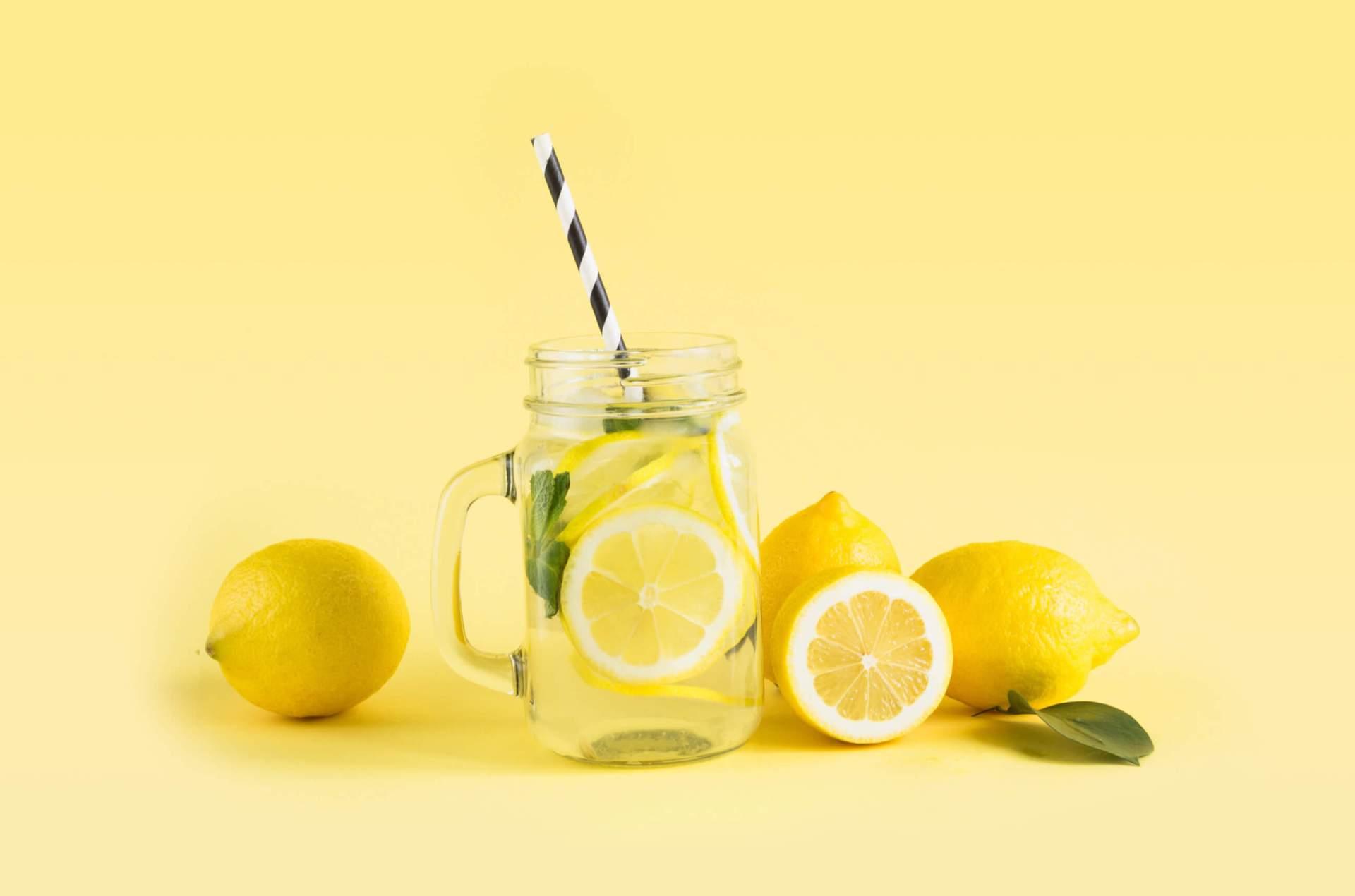 Lemonade from a lemonade stand