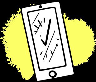 Phone icon graphic