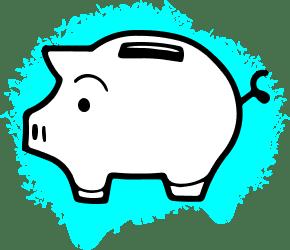piggybank icon graphic