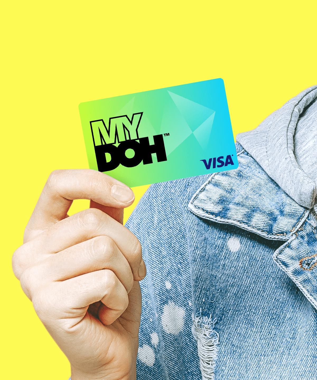 Mydoh Visa Cash Card